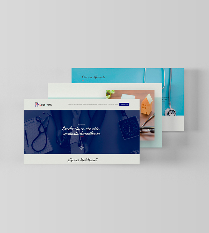 web medicina • MediHome
