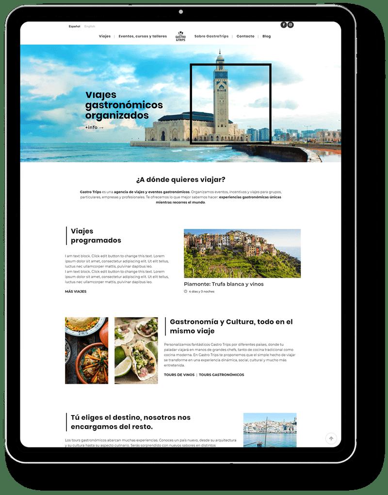 web turismo • Gastro Trips