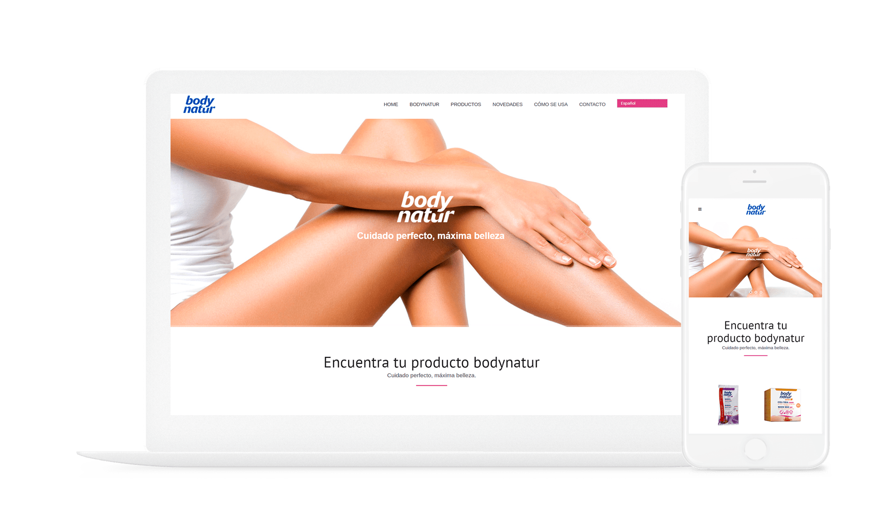 diseño online • Body Natur