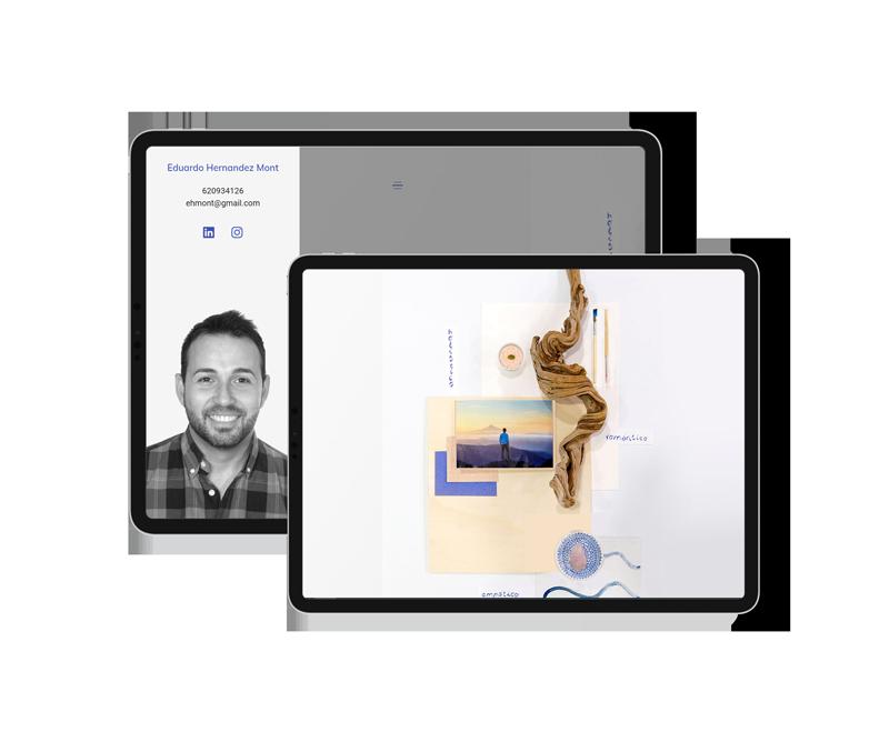 Web con portfolio personal • Eduardo Hernández