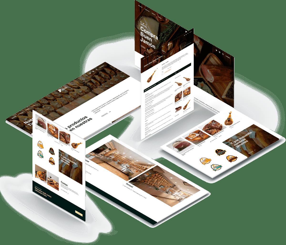 tienda online Jamones Peiró • Jamones Peiro
