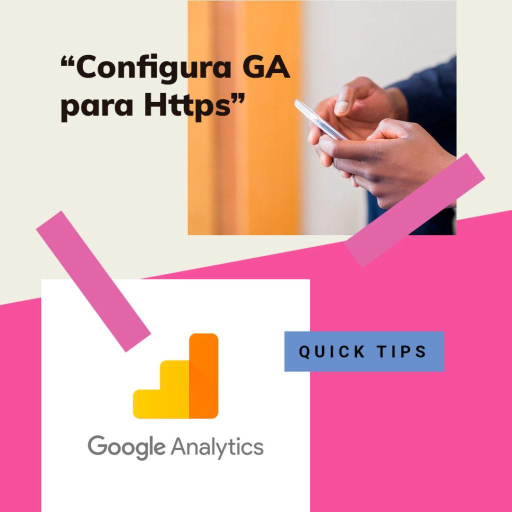 Google Analytics • Configura Google Analytics para Https