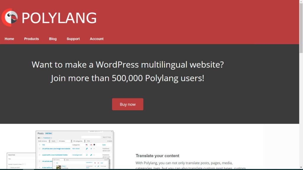 traducir una web • Traducir una web a otros idiomas - Polylang