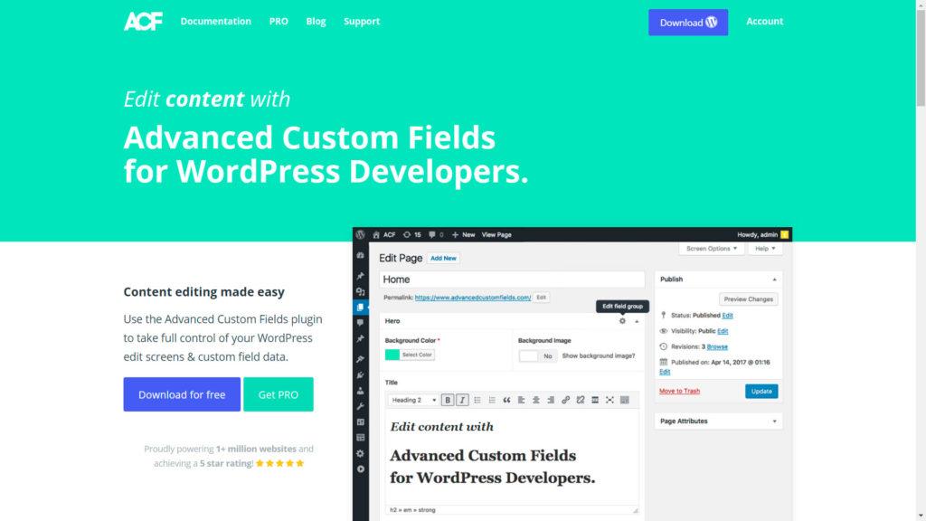 campos personalizados • Crear tus propios campos personalizados - Advanced Custom Fields