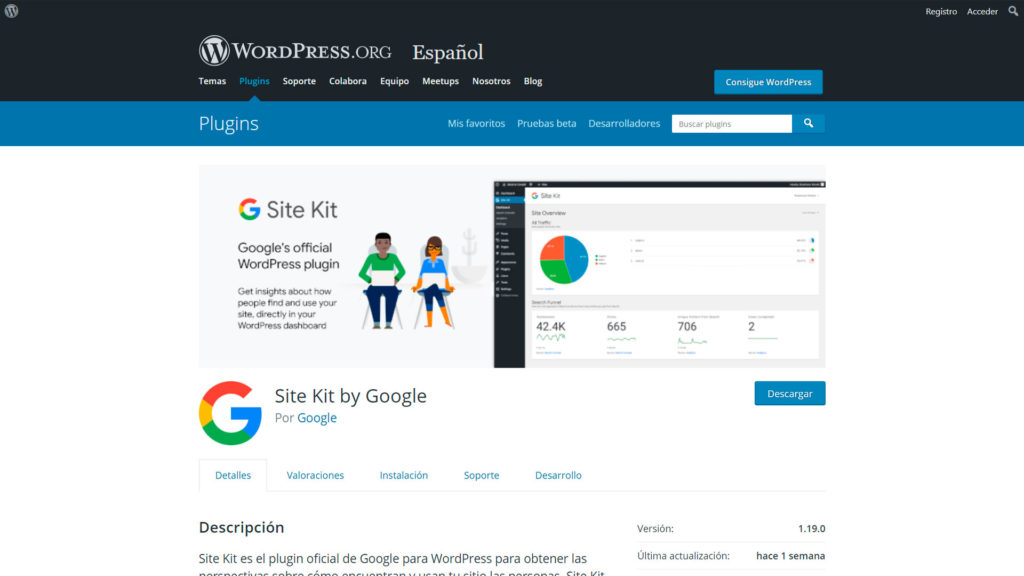 Conectar tu web con Google • Conectar tu web con Google - Google Site Kit